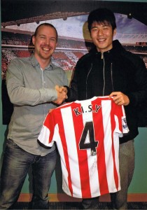 Tim Finley with Ki Sung-Yeung